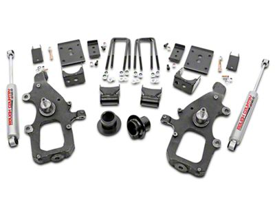 Rough Country Lowering Kit w/ Premium N2.0 Shocks - 3 in. Front / 5 in. Rear (04-08 2WD F-150)