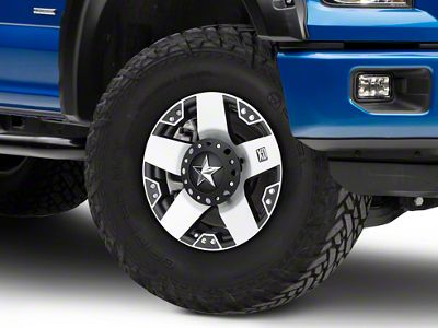 Rockstar XD775 Black Machined 6-Lug Wheel - 18x9 (04-18 F-150)