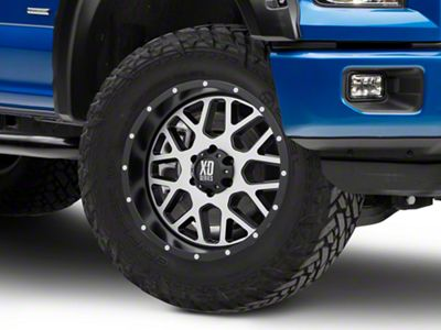 XD Grenade Satin Black w/ Machined Face 6-Lug Wheel - 20x9 (04-19 F-150)