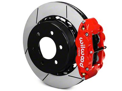 Wilwood Superlite 6R Rear Big Brake Kit - Red (12-19 F-150)