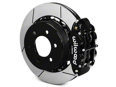Wilwood Superlite 6R Rear Big Brake Kit - Black (12-19 F-150)