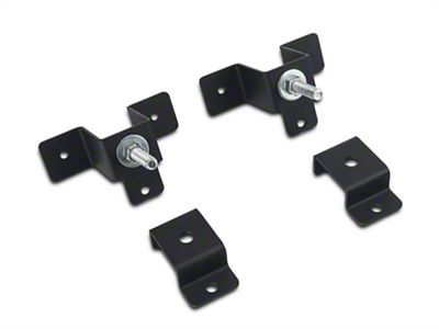 Leitner Designs Bed Rack Hi-Lift Jack Brackets (97-19 F-150)