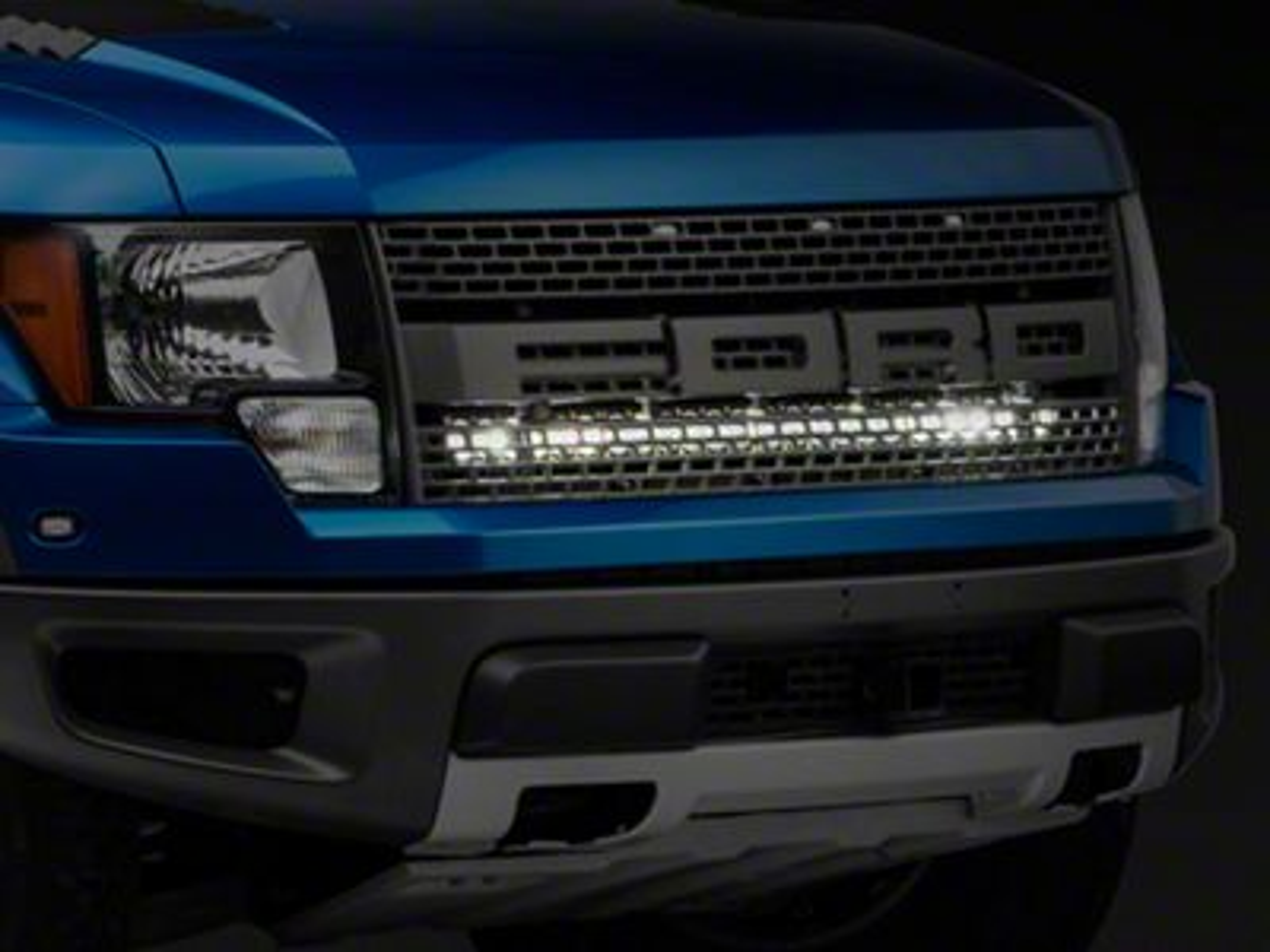 Baja Designs 40 in. OnX6 LED Light Bar w/ Upper Grille Mounting Brackets (10-14 F-150 Raptor)
