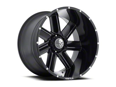 Hostile Switch Blade Asphalt 6-Lug Wheel - 20x9 (04-18 All)