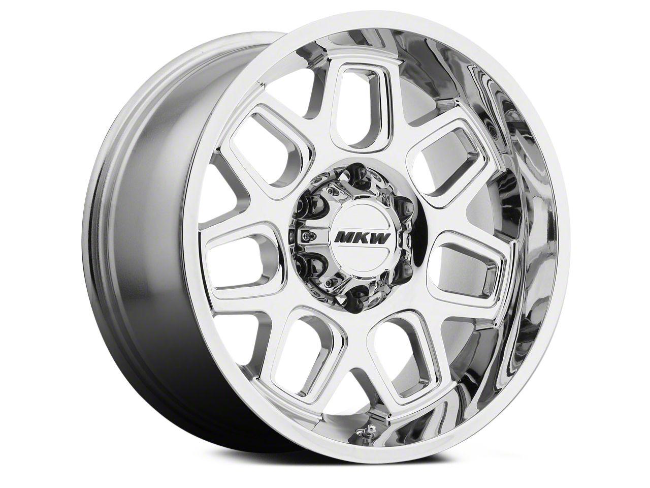 MKW Offroad M92 Chrome 6-Lug Wheel - 20x9 (04-18 All)