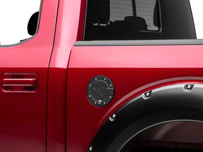 RBP RX-2 Locking Fuel Door - Black (15-19 F-150, Excluding Diesel)