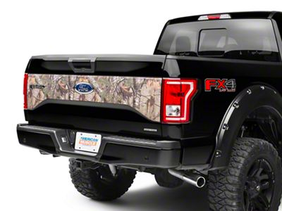 Real Tree Camo Tailgate Panel Decal (15-17 F-150 w/o Tailgate Applique)