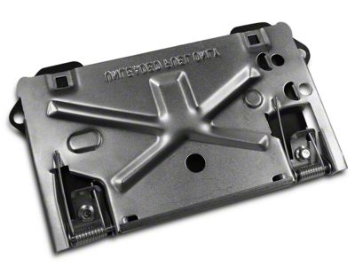 Iron Cross Flip Down License Plate for Iron Cross HD Base Series Bumpers (97-18 F-150)