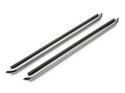 Iron Cross Plus Step Nerf Bars - Stainless Steel (15-19 F-150 Regular Cab, SuperCab)
