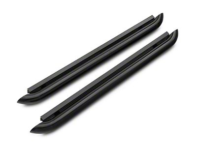 Iron Cross Plus Step Nerf Bars - Black (15-18 F-150 Regular Cab, SuperCab)