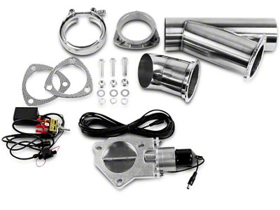 GMS Electronic Exhaust Cutout System - 4 in. (97-19 F-150)