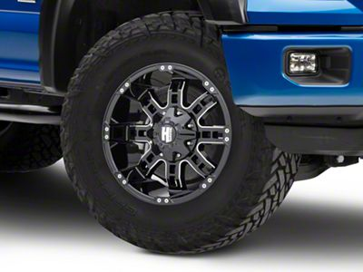 Havok Off-Road H103 Black Milled 6-Lug Wheel - 18x9 (04-18 F-150)