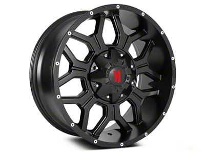 Havok Off-Road H106 Matte Black 6-Lug Wheel - 20x9 (04-19 F-150)