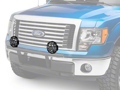 PIAA 520 Series 6 in. Round SMR Xtreme White Halogen Lights - Driving Beam - Pair (97-19 F-150)