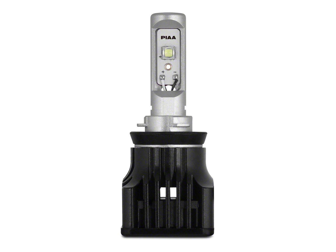 PIAA High Output White LED Low Beam Light Bulb - H11 (15-18 F-150 w/ Halogen Headlights)