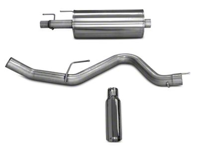 dB Performance by Corsa 3.0 in. Single Exhaust System - Side Exit (15-18 3.5L EcoBoost F-150, Excluding Raptor)