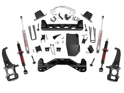 Rough Country 6 in. Suspension Lift Kit w/ Lifted Struts (04-08 4WD F-150)