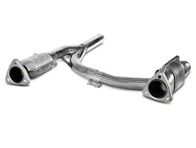 Dynatech SuperMAXX Catted Mid-Pipe (04-08 2WD/4WD 5.4L F-150 w/ Long Tube Headers)