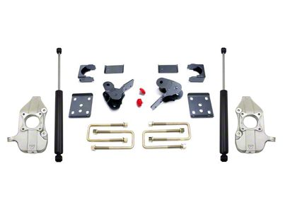 Max Trac Lowering Kit w/ Maxtrac Shocks - 2 in. Front / 4 in. Rear (15-19 2WD F-150)