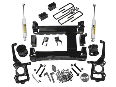 SuperLift 4.5 in. Suspension Lift Kit w/ Shocks (15-19 4WD F-150, Excluding Raptor)