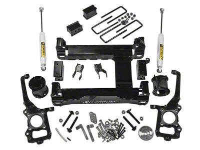 SuperLift 6 in. Suspension Lift Kit w/ Shocks (15-19 4WD F-150, Excluding Raptor)