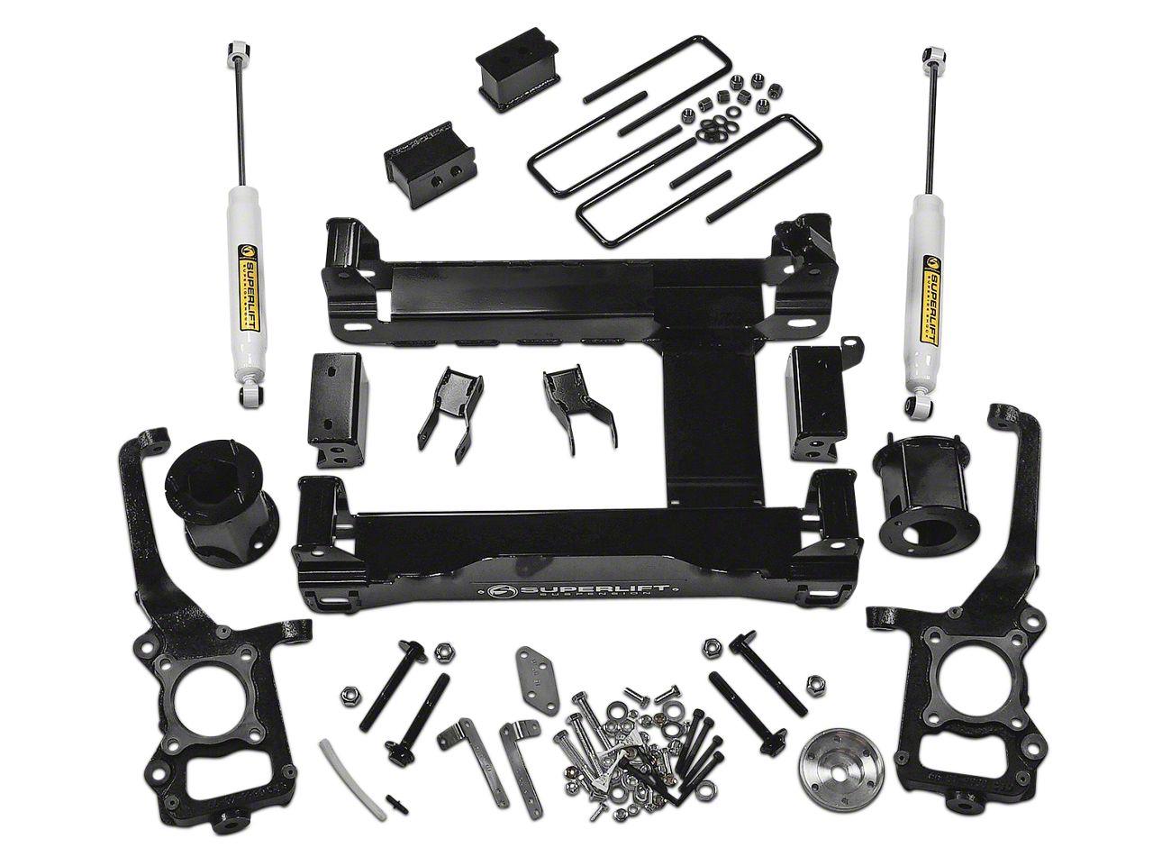 SuperLift 6 in. Suspension Lift Kit w/ Shocks (15-18 4WD F-150, Excluding Raptor)