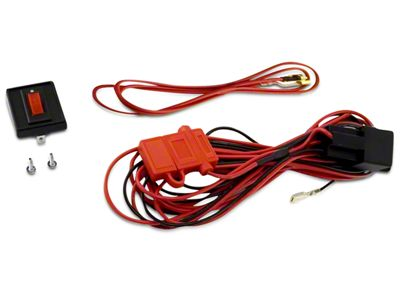 Rugged Ridge Wiring Harness for Three HID Off-Road Fog Lights (97-19 F-150)