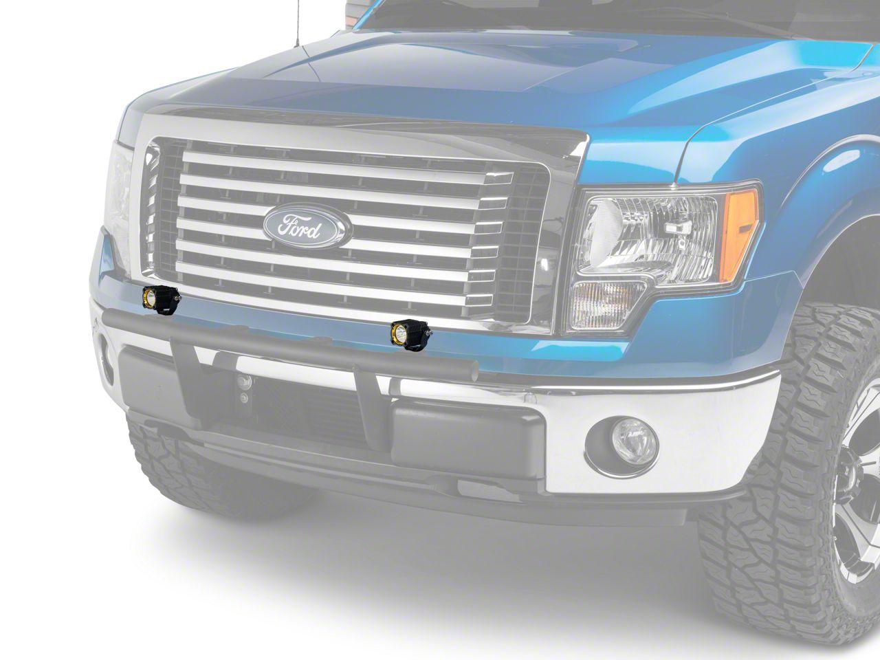 KC HiLiTES Flex Single LED Light - Spot Beam - Pair