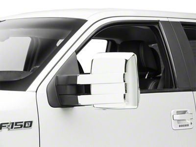 Chrome Mirror Covers (09-14 F-150 w/ Towing Mirrors)