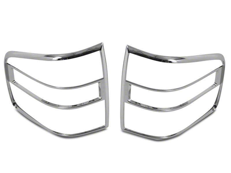 Putco Chrome Tail Light Covers (04-08 F-150 Flareside)