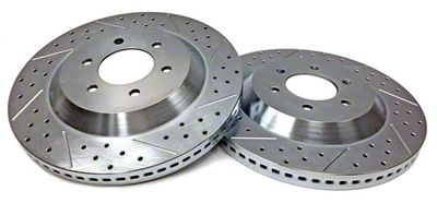 Baer EradiSpeed1 Drilled & Slotted 6-Lug Rotors - Front Pair (04-08 2WD/4WD F-150)