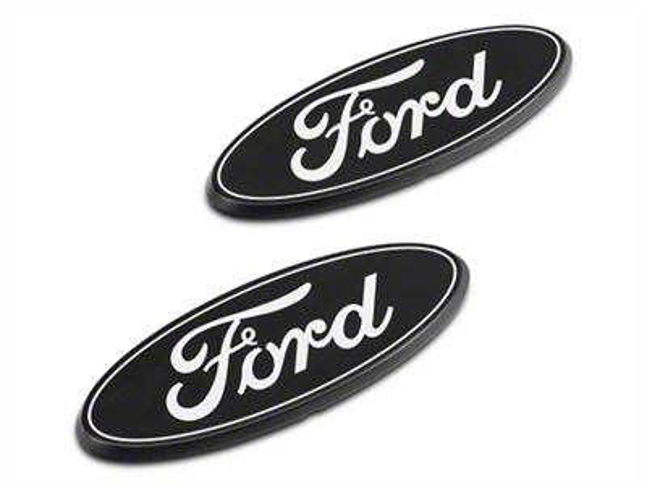 Putco Grille & Tailgate Emblems - Black (09-14 F-150)