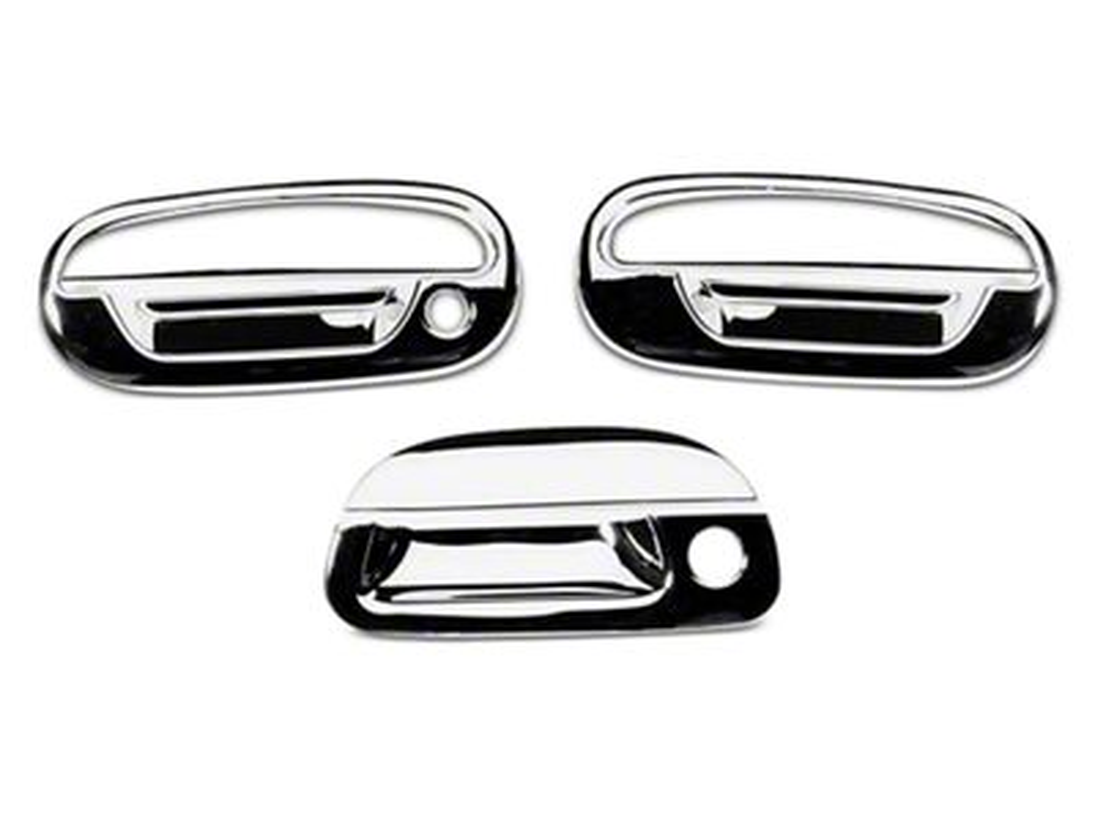 Putco Chrome Door & Tailgate Handle Covers (97-03 F-150 Regular Cab, SuperCab)