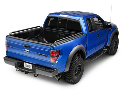 Locker Side Rails - Black (04-14 F-150 w/ 5.5 ft & 6.5 ft. Bed)