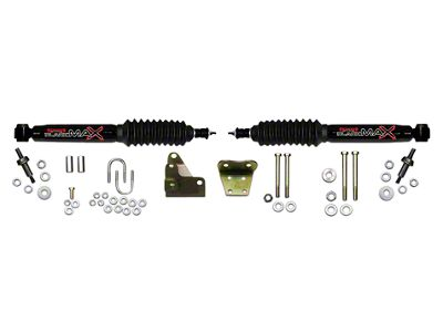 SkyJacker Black MAX Dual Stabilizer Kit for Skyjacker 6 in. Lift Kit (97-03 4WD F-150)