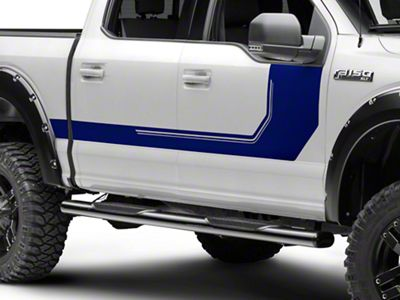 Blue Side Graphic (15-18 F-150)