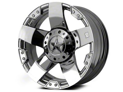 Rockstar XD775 Chrome 6-Lug Wheel - 22x9.5 (04-19 F-150)