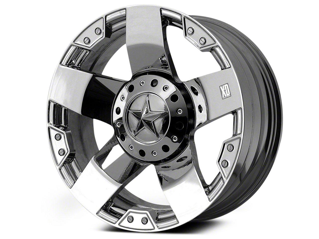 Rockstar XD775 Chrome 6-Lug Wheel - 22x9.5 (04-18 F-150)
