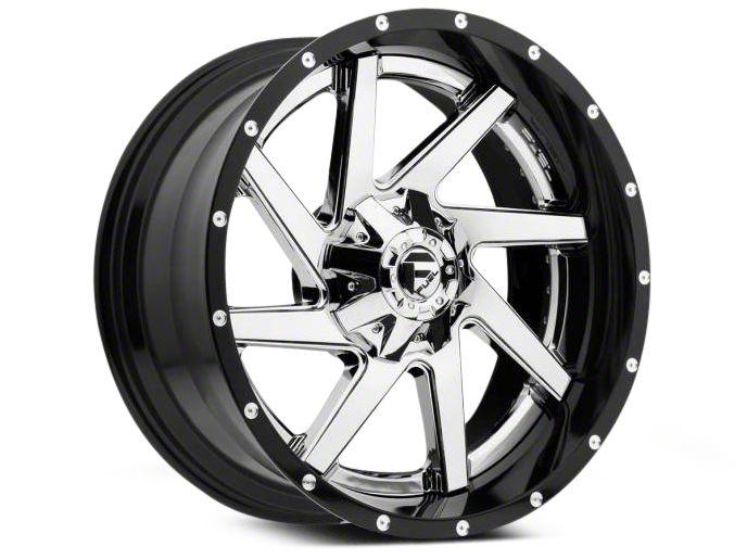 Fuel Wheels Renegade Chrome w/ Gloss Black Lip 6-Lug Wheel - 22x10 (04-18 F-150)