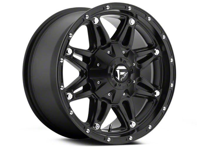 Fuel Wheels Hostage Matte Black 6-Lug Wheel - 22x9.5 (04-19 F-150)