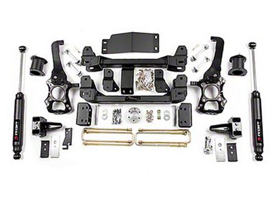 RBP 4 in. Suspension Lift Kit w/ Shocks (2014 4WD F-150, Excluding Raptor)