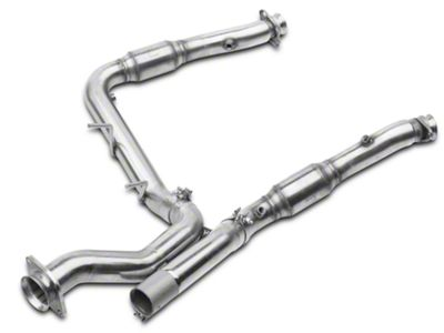 Kooks Green Catted Downpipe (17-18 F-150 Raptor)