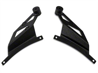 Raxiom 50 in. Curved LED Light Bar Windshield Mounting Brackets (09-14 F-150)