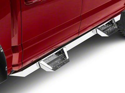 ICI Magnum RT Cab Length Side Step Bars - Stainless Steel (15-18 F-150 SuperCab, SuperCrew)