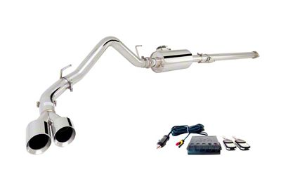 X-Force Varex Single Exhaust System - Side Exit (15-18 5.0L F-150)