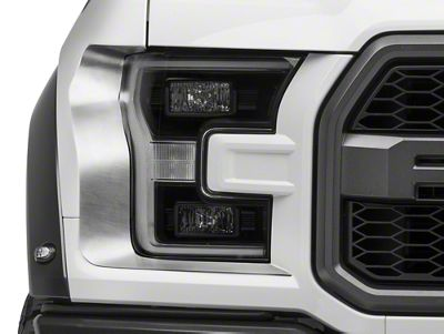ACC Brushed Headlight Trim (17-19 F-150 Raptor)