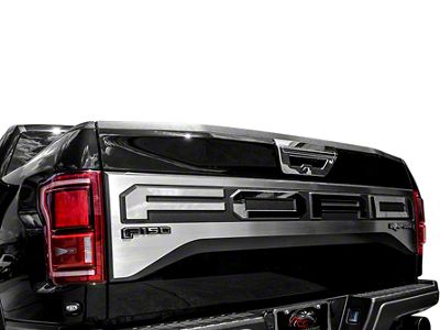 Polished Tailgate Plate (17-19 F-150 Raptor w/ Tailgate Applique)
