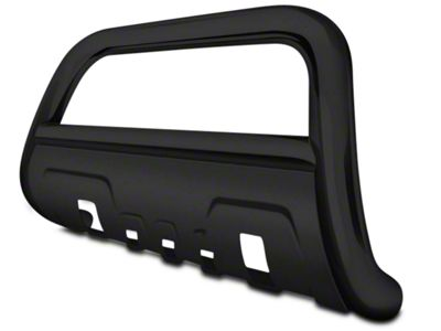 Black Horse Off Road 3.5 in. Savannah Oval Bull Bar - Black (04-18 F-150, Excluding Raptor)