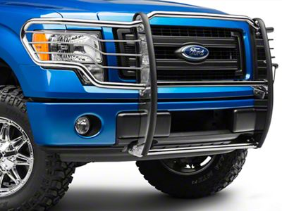 Black Horse Off Road Grille Guard - Stainless Steel (09-14 F-150, Excluding Raptor)