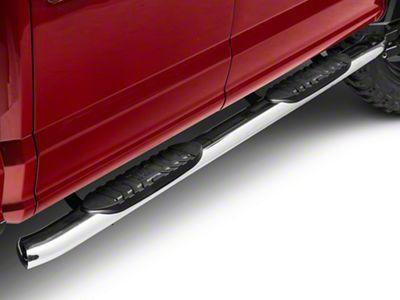 Black Horse Off Road 5 in. Extreme Side Step Bars - Stainless Steel (15-19 F-150 SuperCab, SuperCrew)